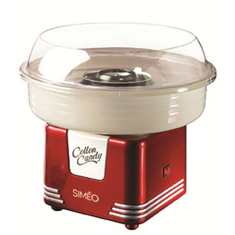 SIMEO Machine à barbe à papa FC330 - Rouge