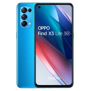 OPPO Smartphone Find X3 Lite 128 Go 5G  6.43 pouces Bleu Double NanoSim