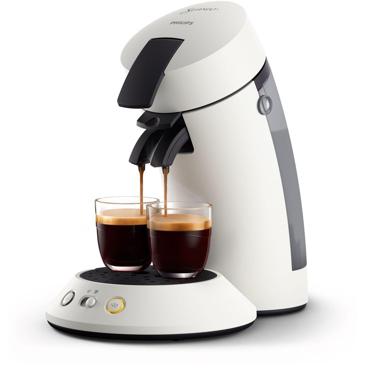Machine à café à dosettes Senseo CSA210/11 - Blanc