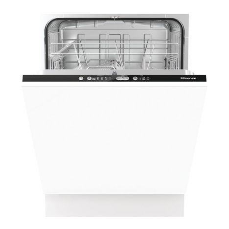 HISENSE Lave vaisselle encastrable HV651C60, 13 couverts, 60 cm, 44 dB, 5 programmes