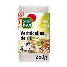 SUZI WAN Vermicelles de riz cuisson en 4 min 4 personnes 250g