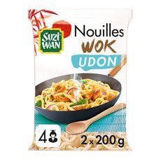 SUZI WAN Nouilles wok udon 4 personnes 2x200g