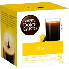 DOLCE GUSTO Capsules de café Grande compatibles Dolce Gusto 16 capsules 128g