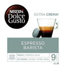 DOLCE GUSTO Capsules de café Espresso barista compatibles Dolce Gusto 16 capsules 112g