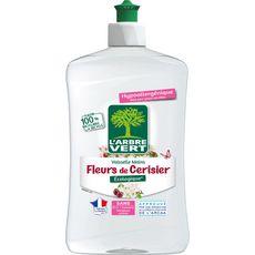 L'ARBRE VERT Liquide vaisselle mains à la fleur de cerisier 500ml
