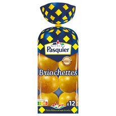 PASQUIER Briochettes rangées 12 pièces 480g