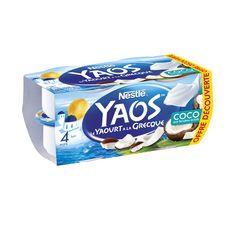 YAOS Yaourt Grecque à la noix de coco 4x125g