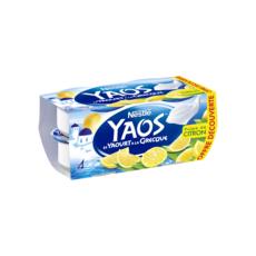 YAOS Yaourt à la grecque saveur citron 4x125g