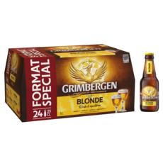 GRIMBERGEN Bière blonde d'Abbaye 6,7% 24x25cl