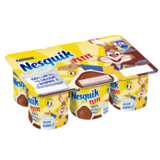PETIT NESQUIK Crème dessert au chocolat 6x60g