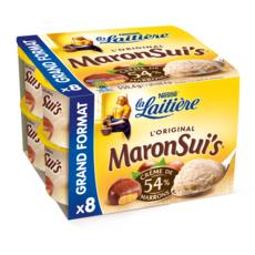 La Laitière LA LAITIERE Maronsuis Mousse à la crème de marrons