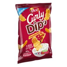 Curly CURLY Dip's biscuits salés à la cacahuète