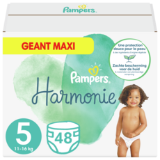 Pampers PAMPERS Couches Harmonie taille 5 (11-16kg)