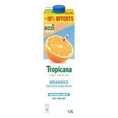 Tropicana TROPICANA Jus d'orange pressé sans pulpe