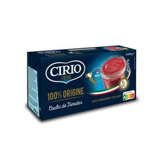 CIRIO Purée de tomates 3x200g
