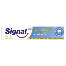 SIGNAL Intégral 8 dentifrice blancheur antibactérien 18h 75ml