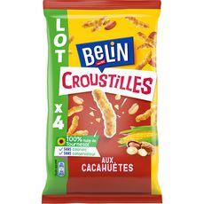 BELIN Croustilles goût cacahuète 4x138g
