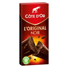 COTE D'OR L'original tablette de chocolat noir en barres 1 pièce 200g