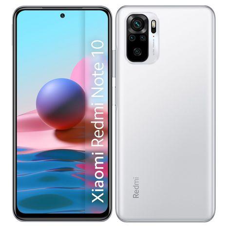 XIAOMI Smartphone Redmi Note 10  128 Go 6.43 pouces Blanc  4G Double Sim