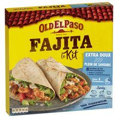 OLD EL PASO Kit pour fajitas - extra doux 4 personnes 478g