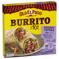 OLD EL PASO Kit pour burrito au paprika - doux 4 personnes 510g