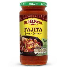 OLD EL PASO Sauce à cuisiner pour fajita - doux 395g