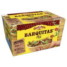 OLD EL PASO Kit pour barquitas - doux 4 personnes 350g