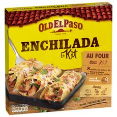 OLD EL PASO Kit pour enchilada - doux 4 personnes 657g
