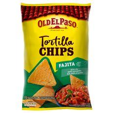 OLD EL PASO Tortillas chips goût fajita sans gluten 185g