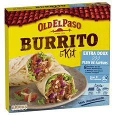 OLD EL PASO Kit pour burrito - extra doux 4 personnes 491g