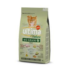 ULTIMA NATURE Croquettes no grain dinde légumes pour chat 1,1kg
