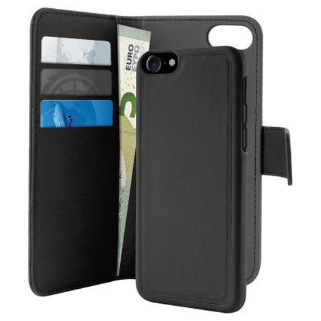 PURO Folio Coque magnétique 2 en 1 pour Apple iPhone 6/7/8/SE20 - Noir