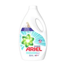 ARIEL Power lessive liquide avec une touche de febreze 45 lavages 2,475l
