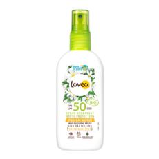 LOVEA Spray solaire bio haute protection hydratant parfum monoï FPS50 100ml
