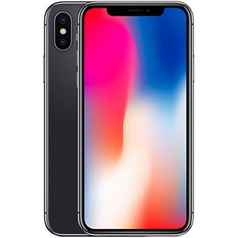 APPLE iPhone 10 - Reconditionné - Grade B - 64 Go - Gris - SLP