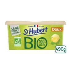 ST HUBERT Margarine bio doux 490g