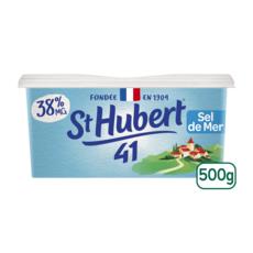 ST HUBERT Margarine demi sel allégée à tartiner 500g