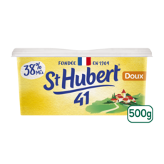 ST HUBERT Margarine doux allégée à tartiner 500g