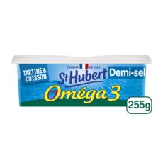 ST HUBERT Margarine oméga 3 demi-sel 255g