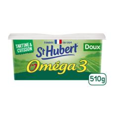 ST HUBERT Margarine oméga 3 doux 510g