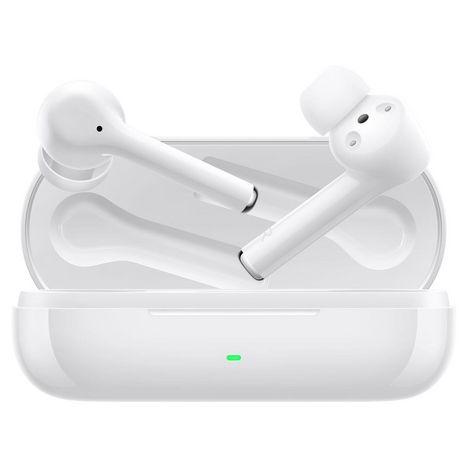 HUAWEI Écouteurs Bluetooth FreeBuds 3i avec étui de recharge - Blanc