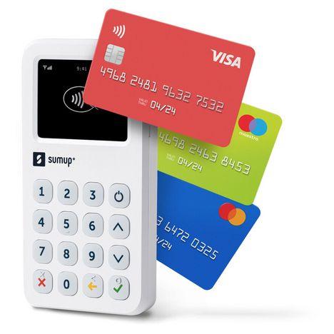 SUMUP Terminal de paiement lecteur de cartes bancaires 3G+Wifi