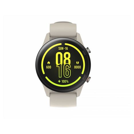 XIAOMI Montre connectée Mi Watch - Blanc