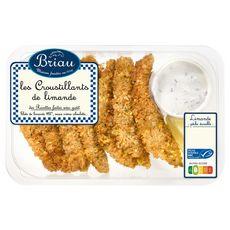 BRIAU Croustillants de limande MSC sauce crème ciboulette 370g