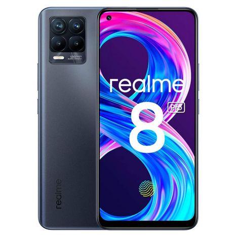 REALME Smartphone 8 Pro 128 Go  6.4 pouces  Noir  4G  Double Nano Sim
