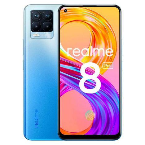 REALME Smartphone 8 Pro 128 Go  6.4 pouces  Bleu  4G  Double Nano Sim