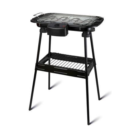 EVATRONIC Barbecue sur pieds 002230 - Noir