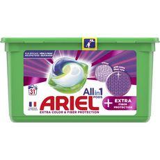 Ariel ARIEL Pods capsules de lessive tout en 1 extra color + protection des fibres