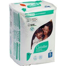 AUCHAN BABY Culotte pour bébé Taille 5 à partir de 12 kg 20 pièces