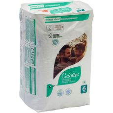 AUCHAN BABY Culotte pour bébé Taille 6 à partir de 16kg 18 pièces